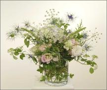 English Garden fulsome flower arrangement - summer flowers