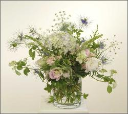 English Garden Bouquet, delivered to Marin General Hospital, Greenbrae.