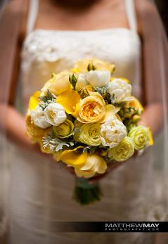 Bride's bouquet by Yukiko, photo by Matt May